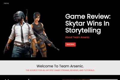 Team Arsenic Template
