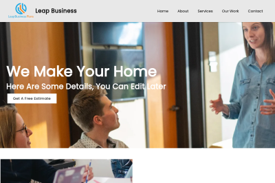 Leap Business Template