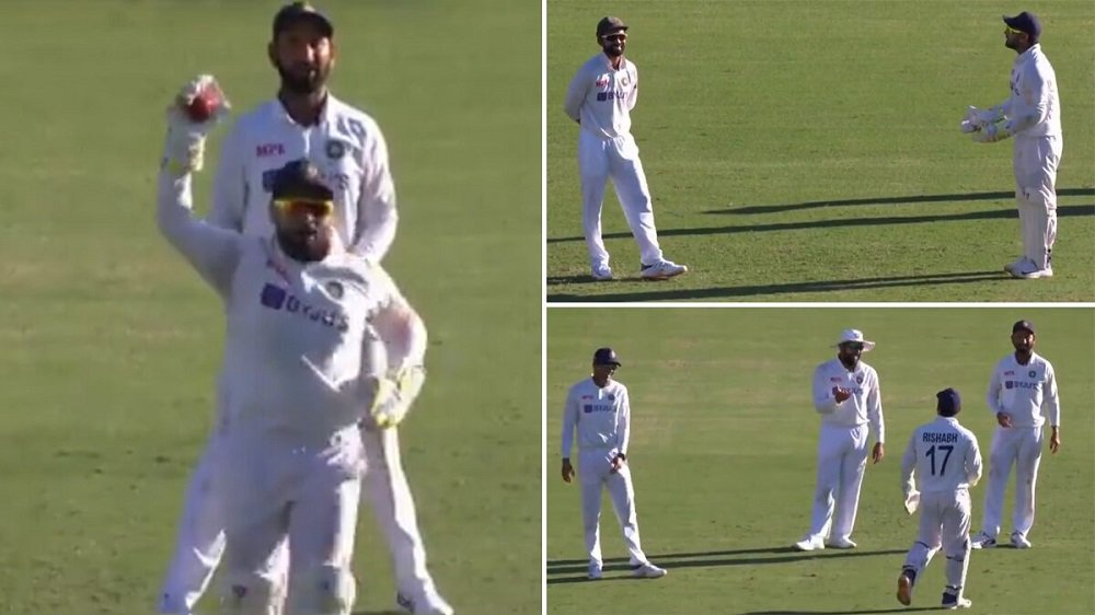 IND vs AUS: Rishabh Pant failed to convince Rahane for awkward DRS challenge on Aussie Skipper