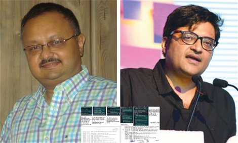 A 500 page chat between Republic TV's Arnab Goswami & former BARC CEO Partho Das Gupta allegedly leaked