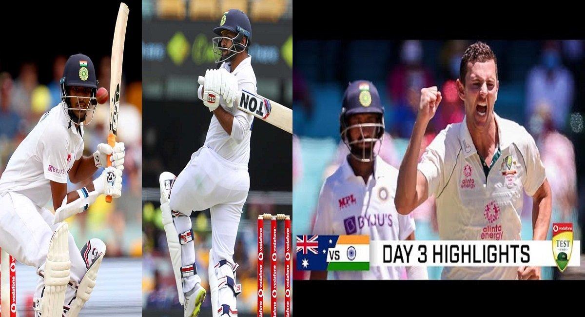 AUS vs IND 4th Test Highlights: Sundar-Thakur shines for India, AUS 26/0 at Stumps