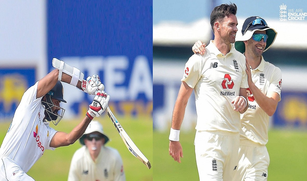 ENG vs SL 2nd Test: Thirimanne & Mathews keep Lankans in check after losing early wickets