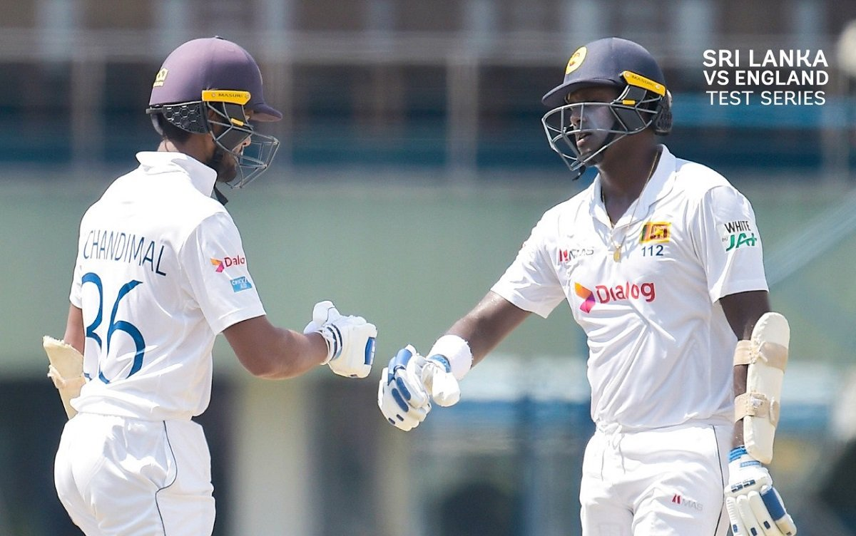 SL vs ENG 2nd Test: Mathews & Chandimal set platform as the hosts cruise past 200-run mark
