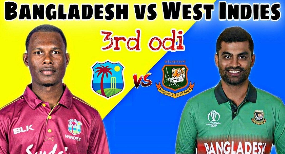 BAN vs WI 3rd ODI: Shakib-inspired Bangladesh will eyeing for Whitewash against new-Windies