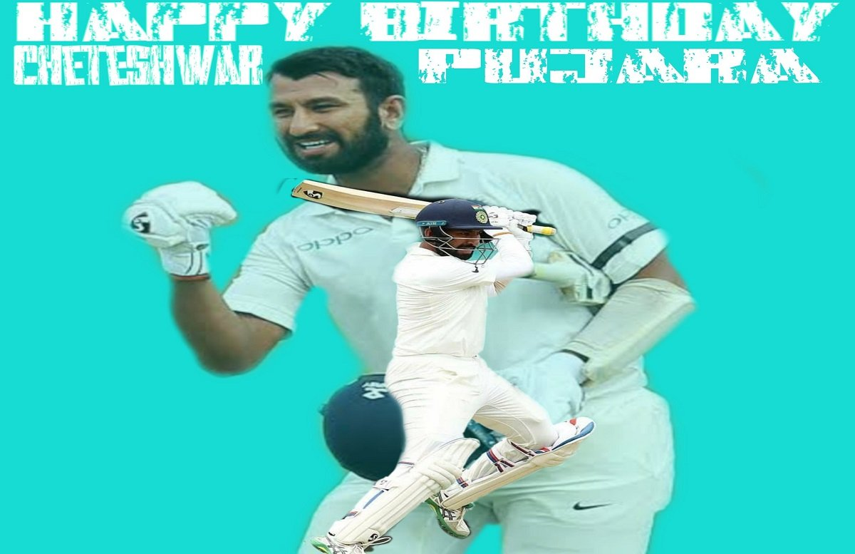 Happy Birthday Pujara: Wishes pour in for 'India's New-wall' countrywide including Indian skipper