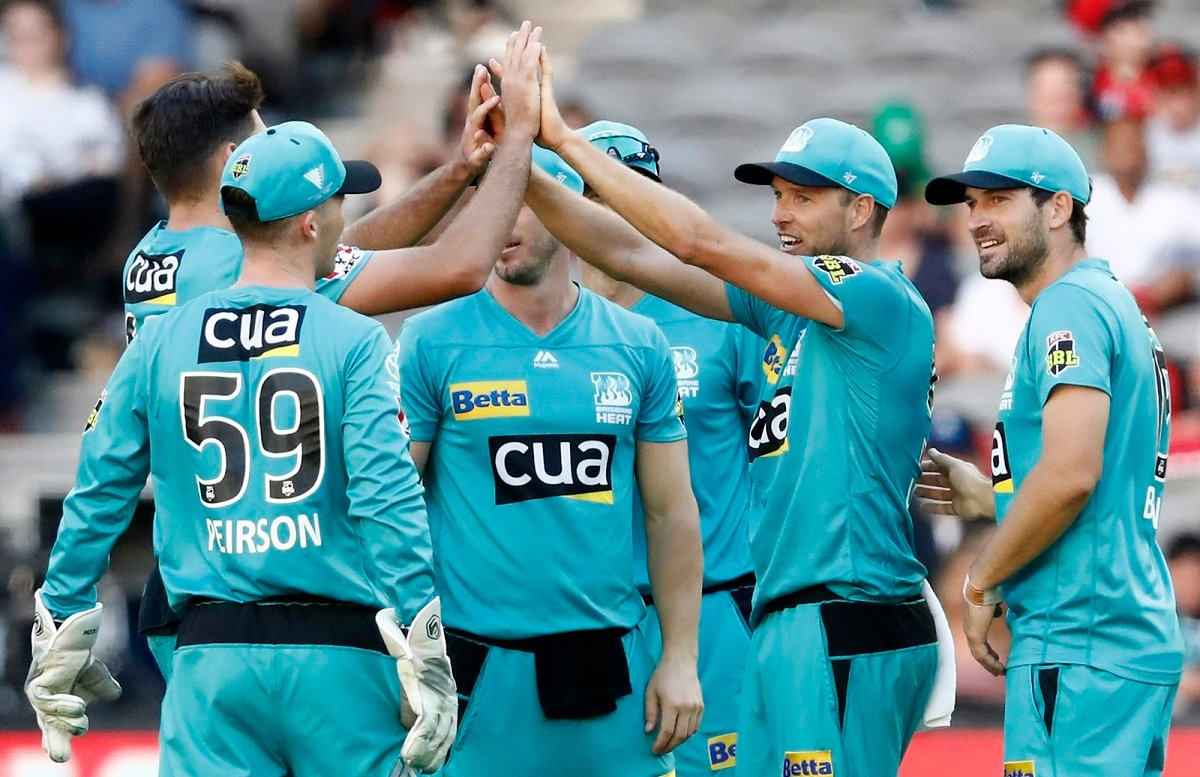 Brisbane Heat are through to the BBL Finals after crushing Strikers in Eliminator