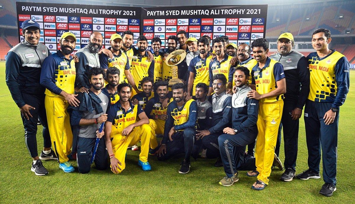 Dinesh Karthik's Tamil Nadu thrashed Baroda by 7 wickets to claim their second SMAT title