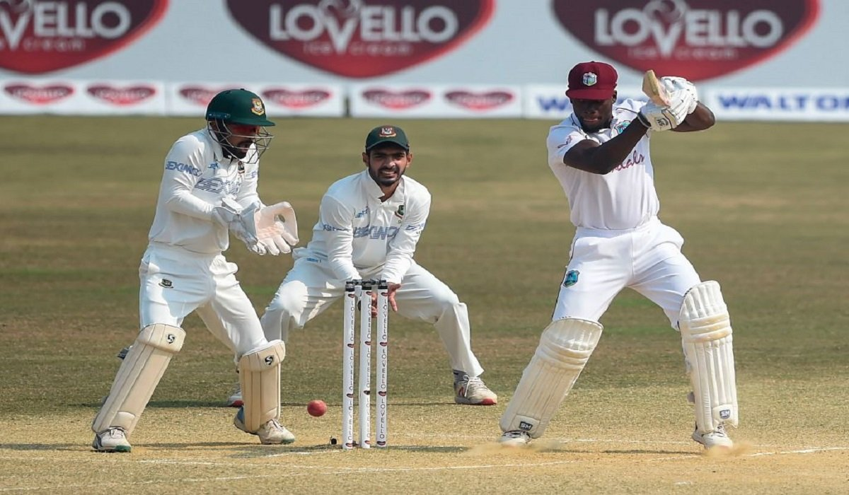 BAN vs WI 2nd Test: West Indies are 84/1 at Lunch after opted to bat first
