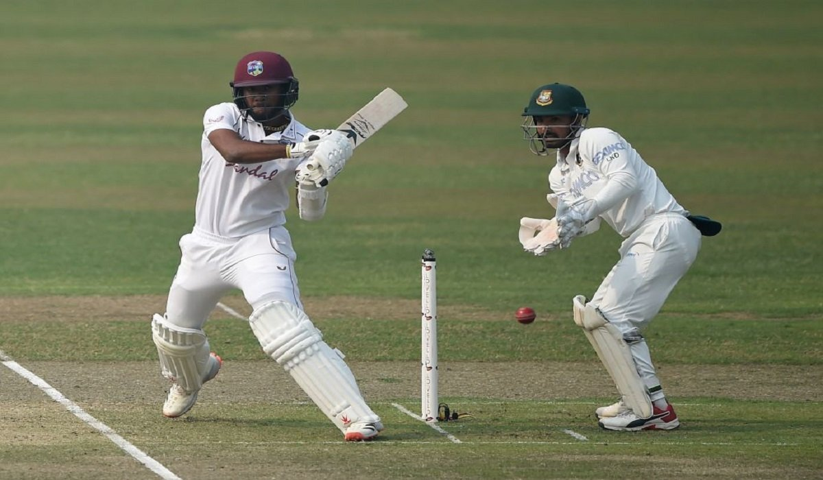 BAN vs WI 2nd Test: Nkrumah Bonner's steller 74* keep the tourists upfront on Day 1