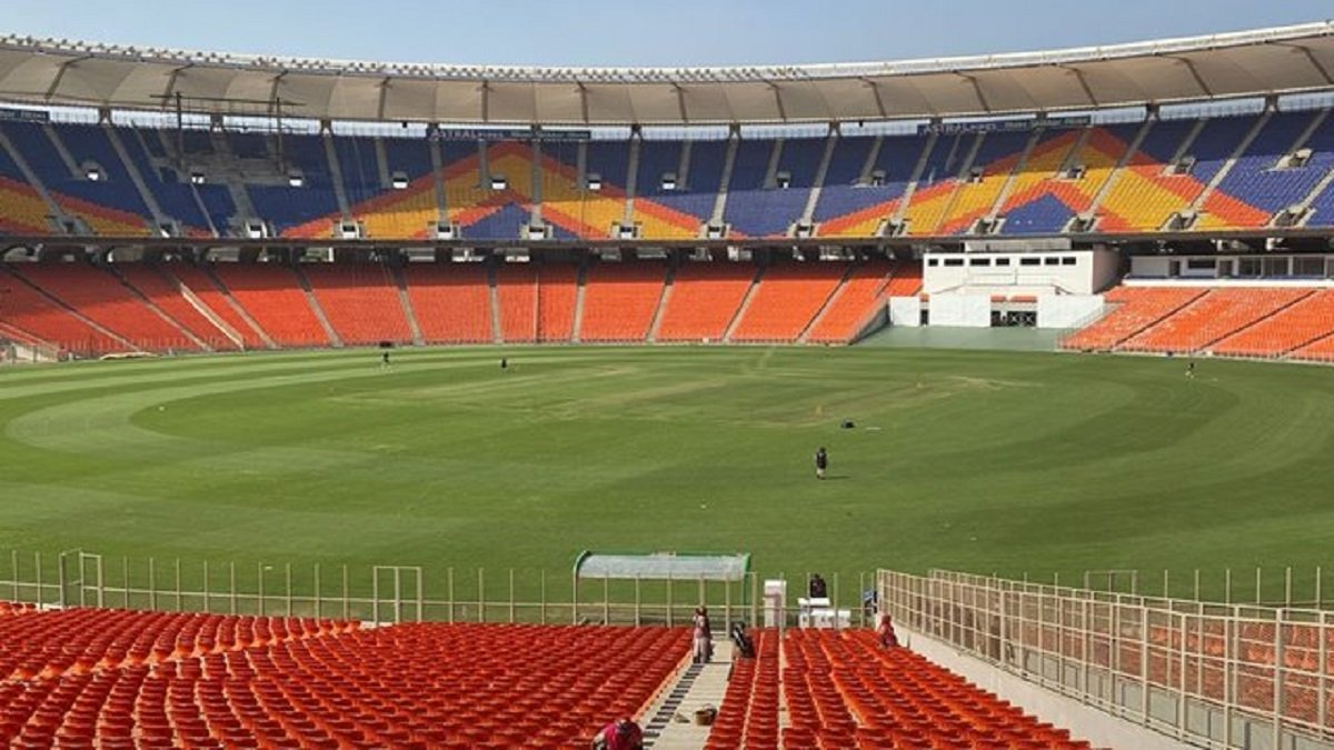World's Largest Cricket Stadium gears up to host IND vs ENG 3rd Pink-ball D/N Test