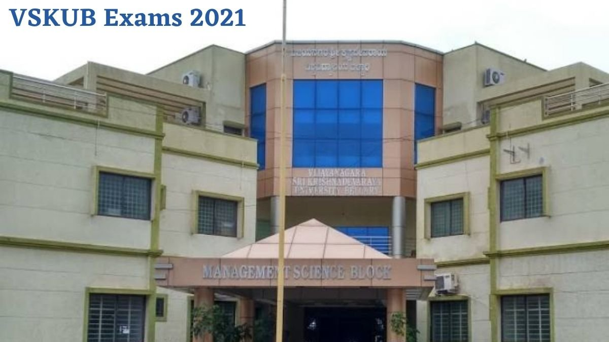 VSKUB Time Table for UG, PG July-August 2021 Exams Released; 1, 3, 5, Semester Exam from 26 July