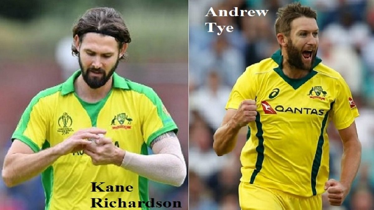 IND vs AUS: Andrew Tye replaces Kane Richardson for the limited-overs series against India