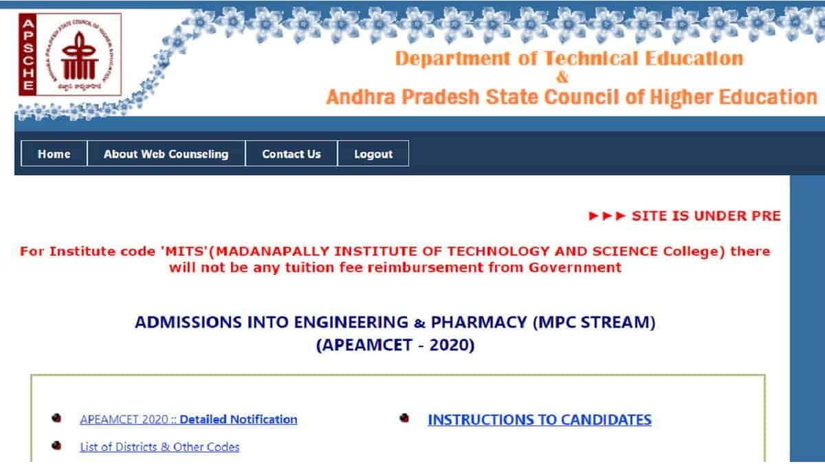 AP EAMCET Seat Allotment List Released, Here is how to download Allotment letter