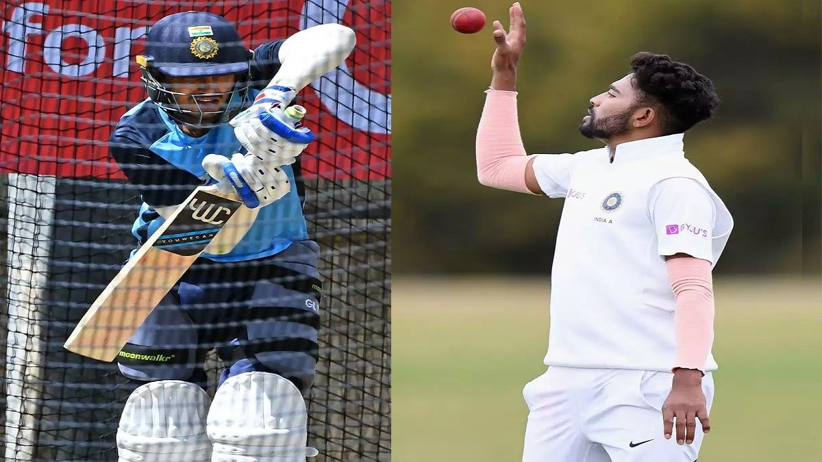 India announces Playing 11 for Boxing Day Test, Shubman Gill & Mohd Siraj for debut