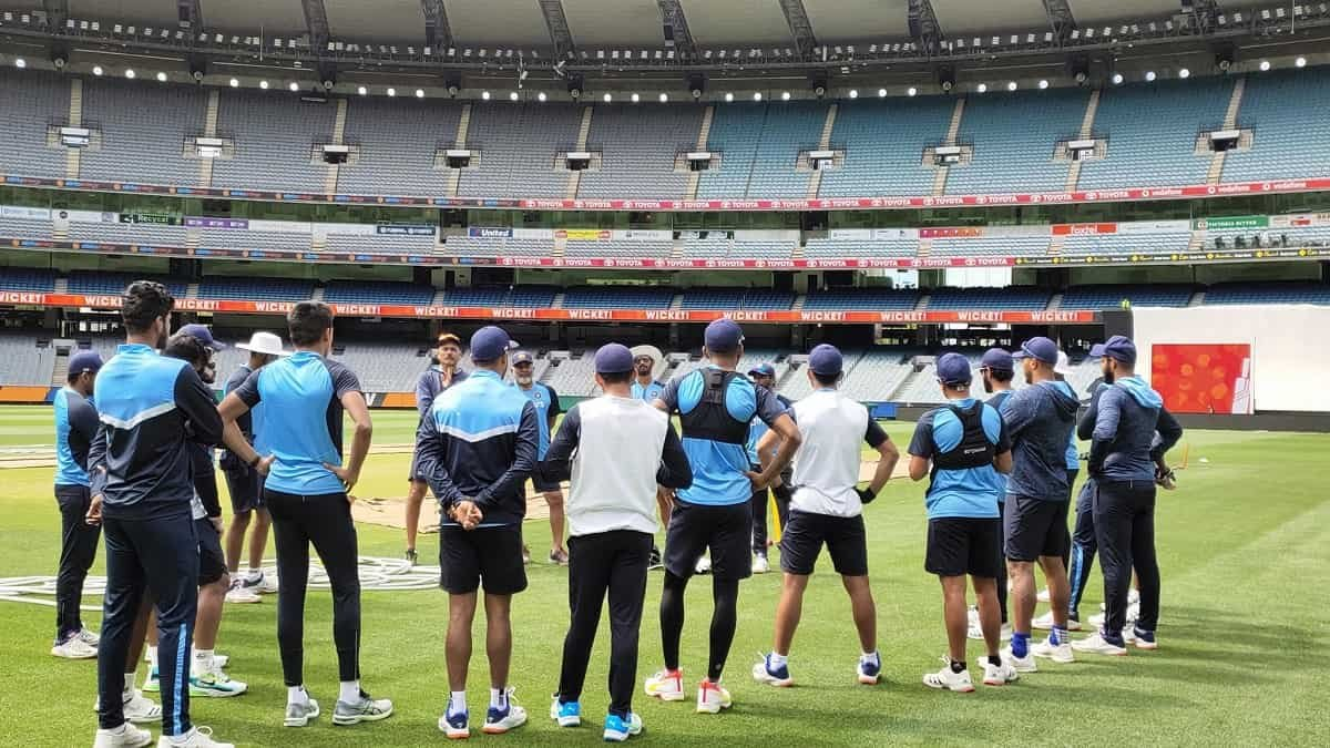 AUS vs IND: Team India Prepares for Boxing Day Test, Jadeja & Gill seen Practicing on the Nets, Watch