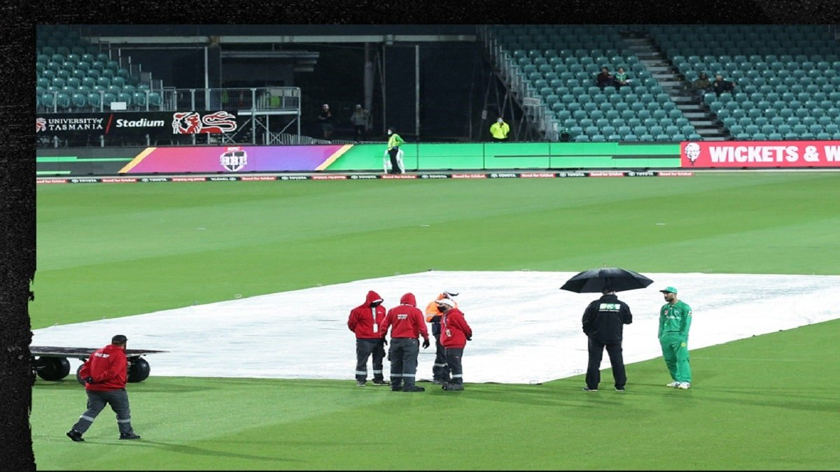 BBL 10: Perth Scorchers vsMelbourne Stars match has been Abandoned due to unseasonal rainfall