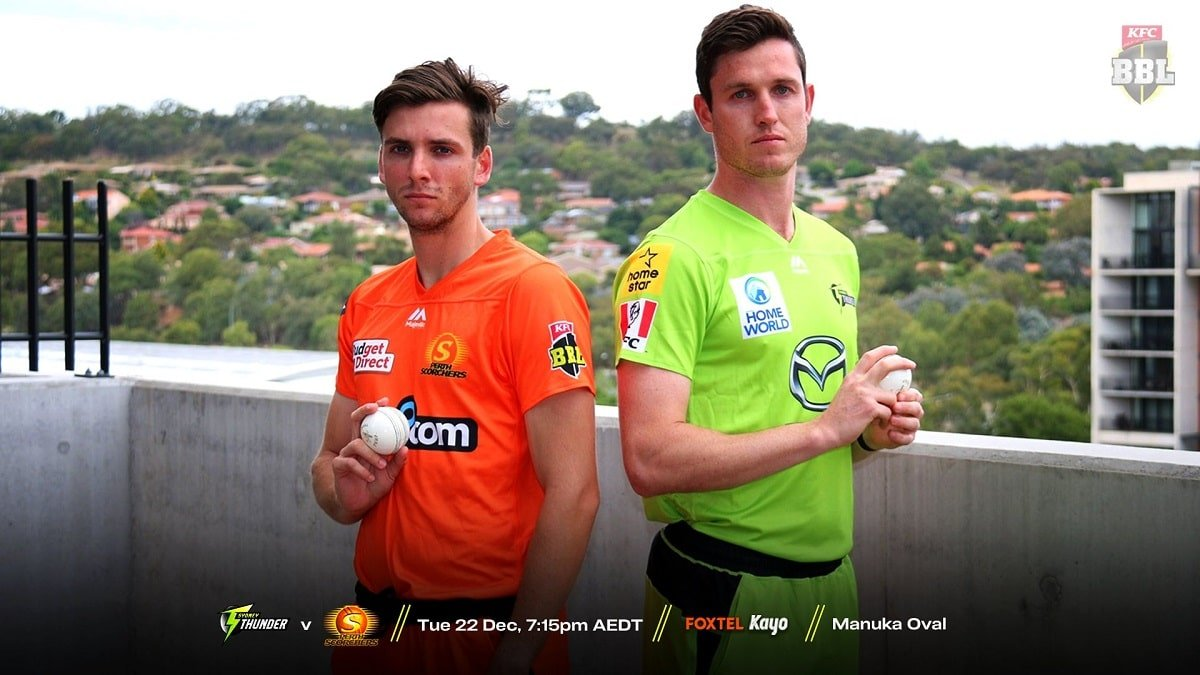 PRS vs SYT Playing 11: Ollie Davies & Adam Milne debut for Sydney Thunders for today's BBL match