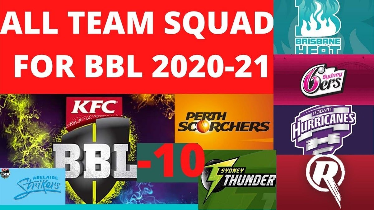 Big Bash League 2020-21 Squads: Full list of players in BBL 10th Season