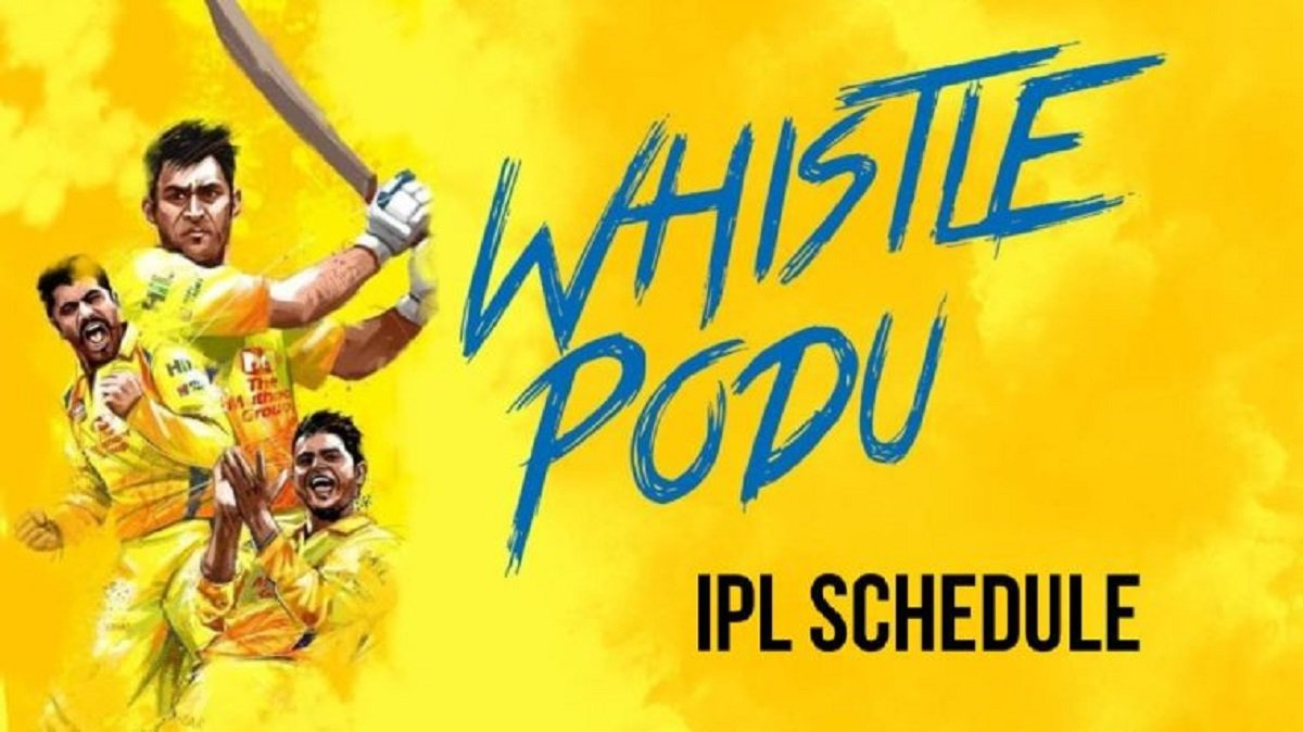 IPL 2020: Chennai Super Kings Full Match list and Results, Updated