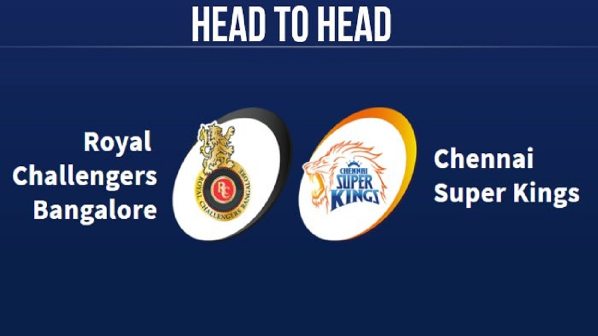 CSK vs RCB Head to Head in IPL's:MS Dhoni's Chennai Super Kings dominates all over Royal Challengers