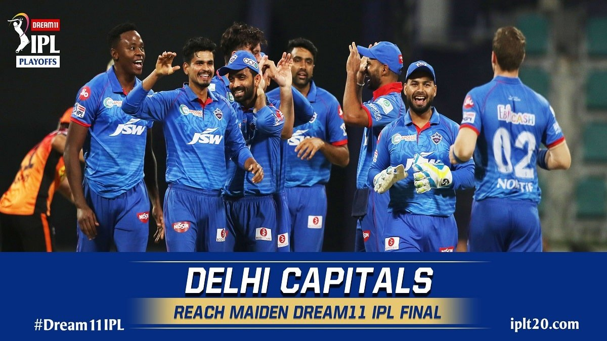 IPL 2020: Delhi Capitals made it to the finals for the first time in IPL history with a 17-run win over SRH