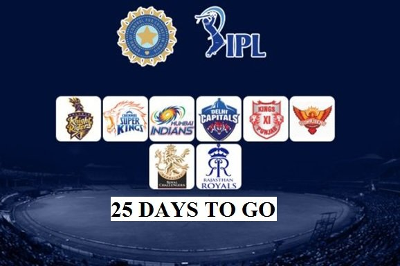 Dream11 IPL 2020: 25 Days to Go, See Updates of the Tournament!