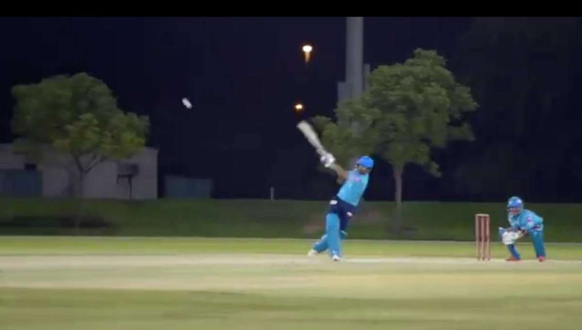 Dream11 IPL 2020: 9 days to go, Shikhar Dhawan smashes sixes during Delhi capitals practice match