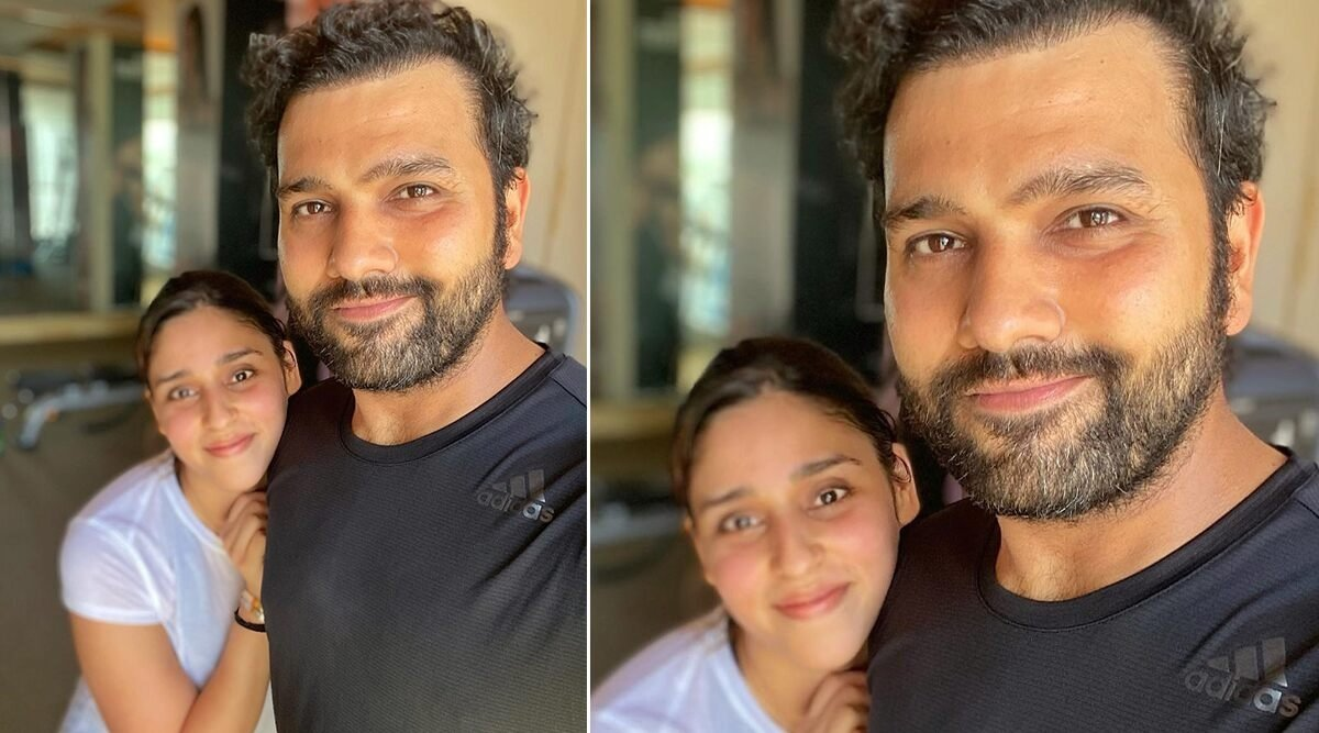 Dream11 IPL 2020: Rohit Sharma shares intense workout clip with wife from UAE!
