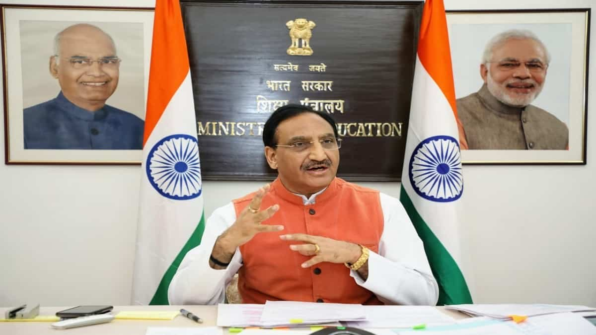 Education Minister Goes Live: Ramesh Pokhriyal to address Teachers on CBSE Exams 2021 at 4 PM