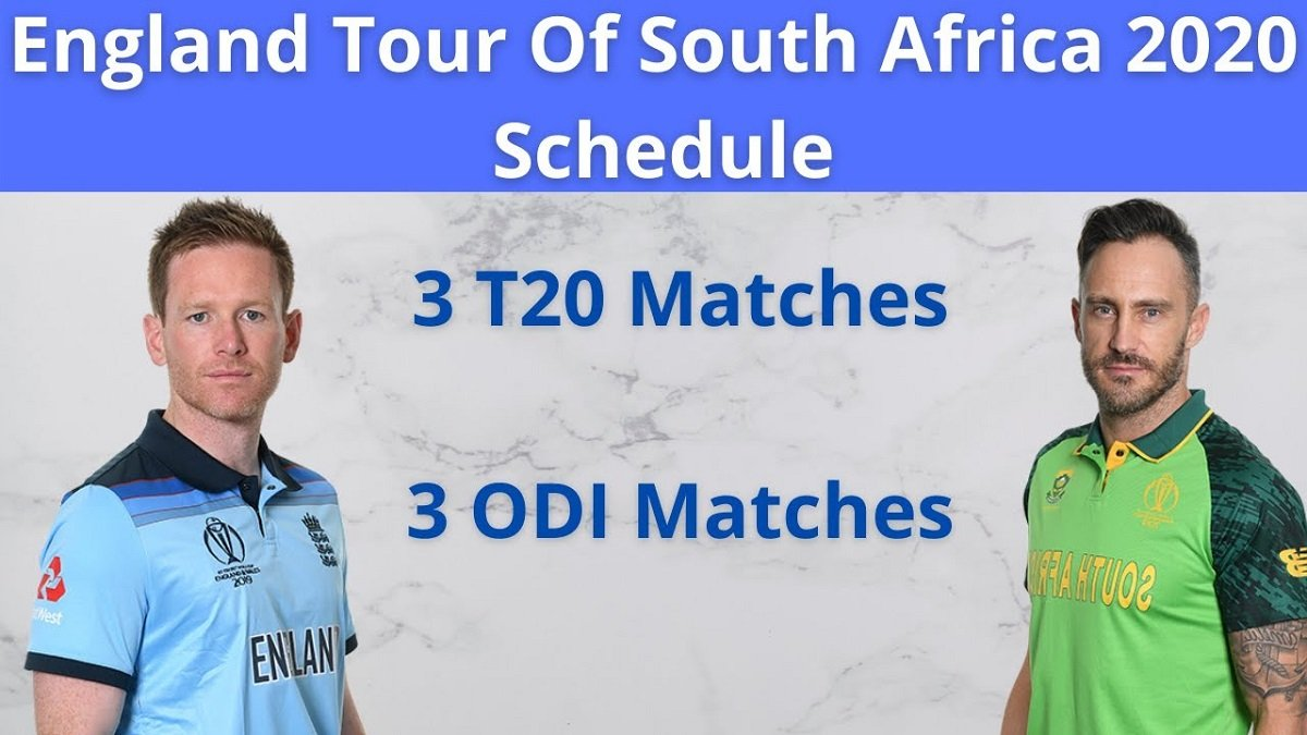 England Tour of South Africa 2020-21: Complete Schedule and Squads