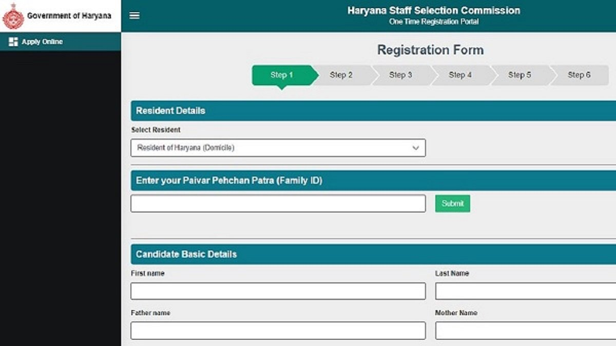 Haryana One Time Registration Portal: CET Eligibility, Validity, Fee, Syllabus and Selection method explained