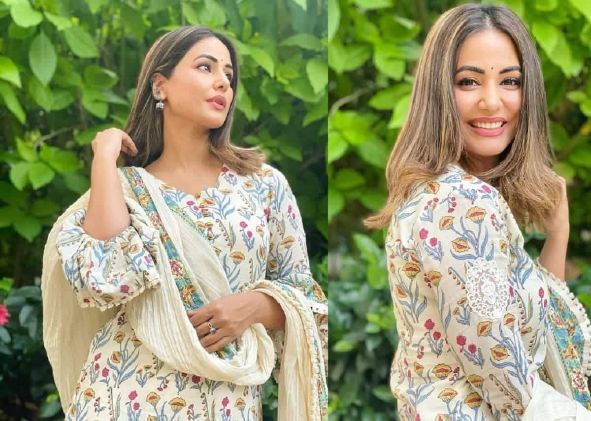 Hina Khan looks alluring in her latest ethnic attire, calls her fan 'you are beautiful'