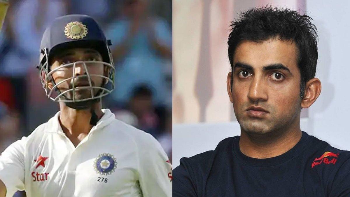 Immense onus on Ajinkya Rahane ahead of Boxing Day Test, affirms Gautam Gambhir