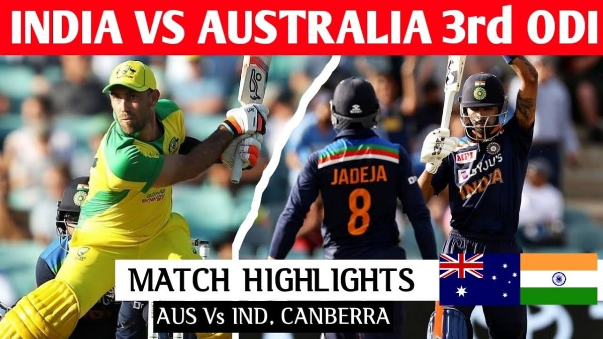 IND vs AUS 3rd ODI Highlights: Team India ends five-match losing streak, Australia take the ODI series 2-1