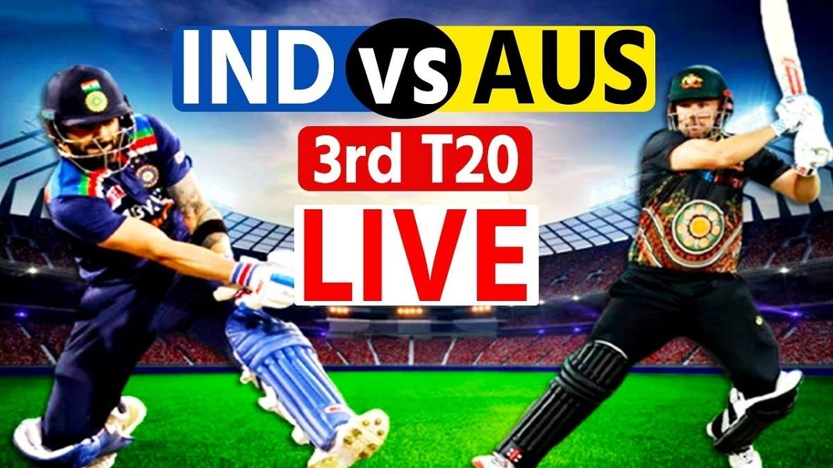 IND vs AUS 3rd T20 Live`: Virat Kohli wrangle with Umpire for a futile Review