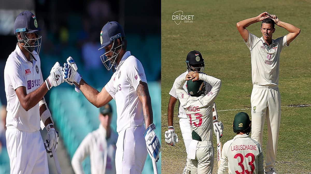 IND vs AUS 3rd Test Highlights: Vihari-Ashwin duo pulled off a Enthralling DRAW, series still stand at 1-1