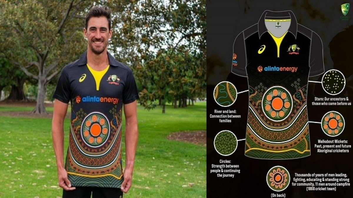 IND vs AUS: Australia unveils a newly designed Indigenous jersey for T20I series against India