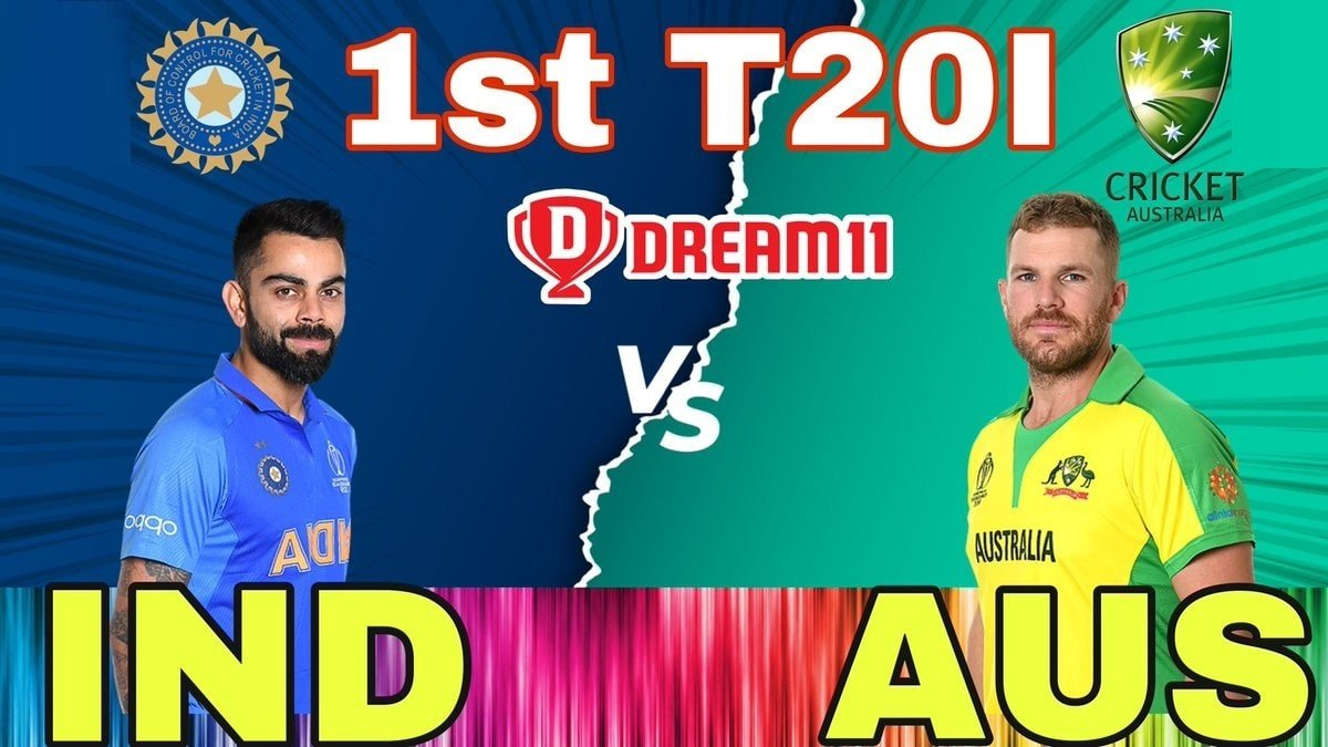 India vs Australia Dream11 Prediction: Check Captain and Vice-captain for Today's IND vs AUS 1st T20