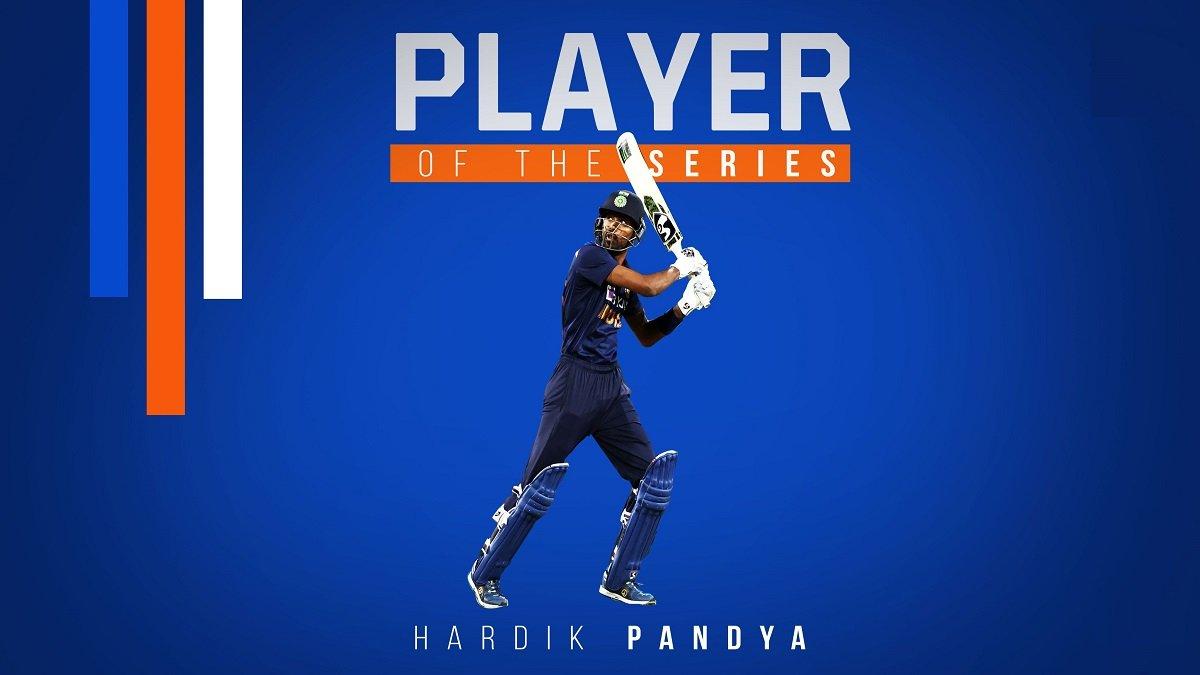 IND vs AUS: Hardik Pandya named as 'Man of the Series' award, set to miss the upcoming Test series