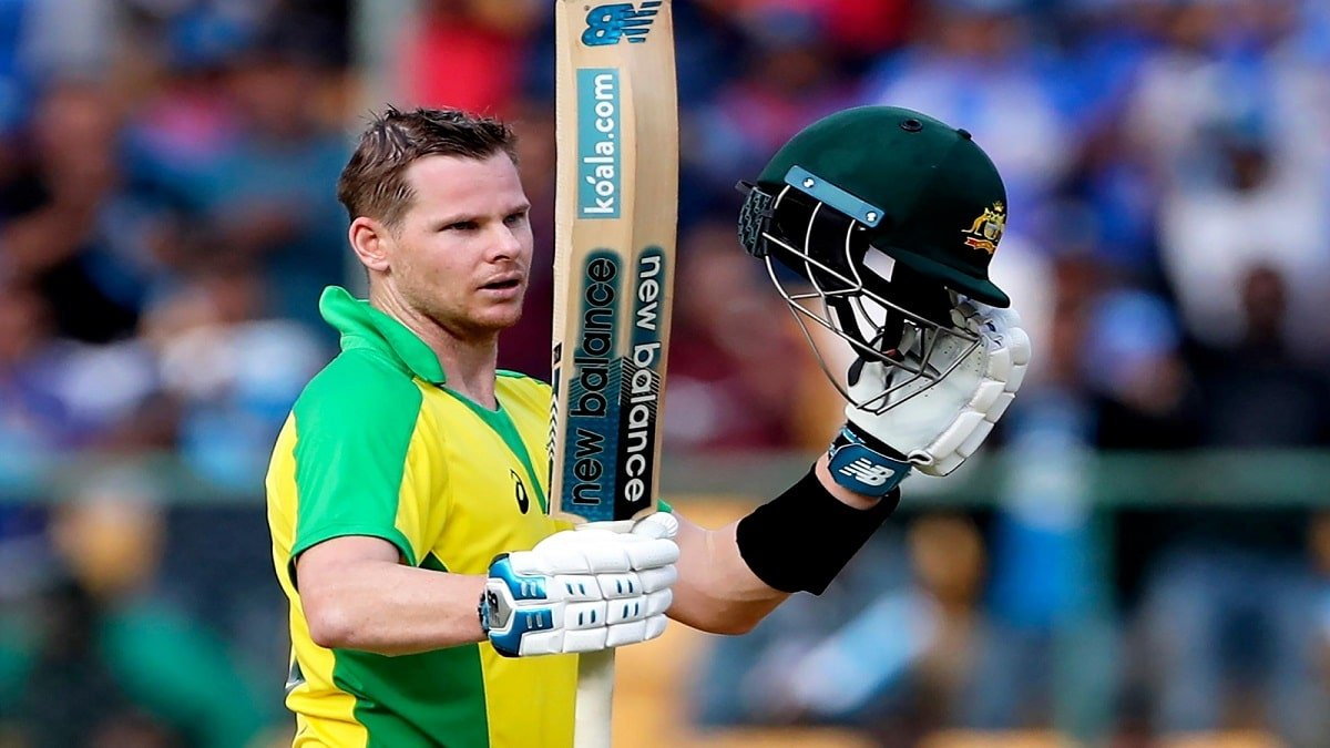 IND vs AUS: Steve Smith hits back-to-back centuries, scores 104 off 64