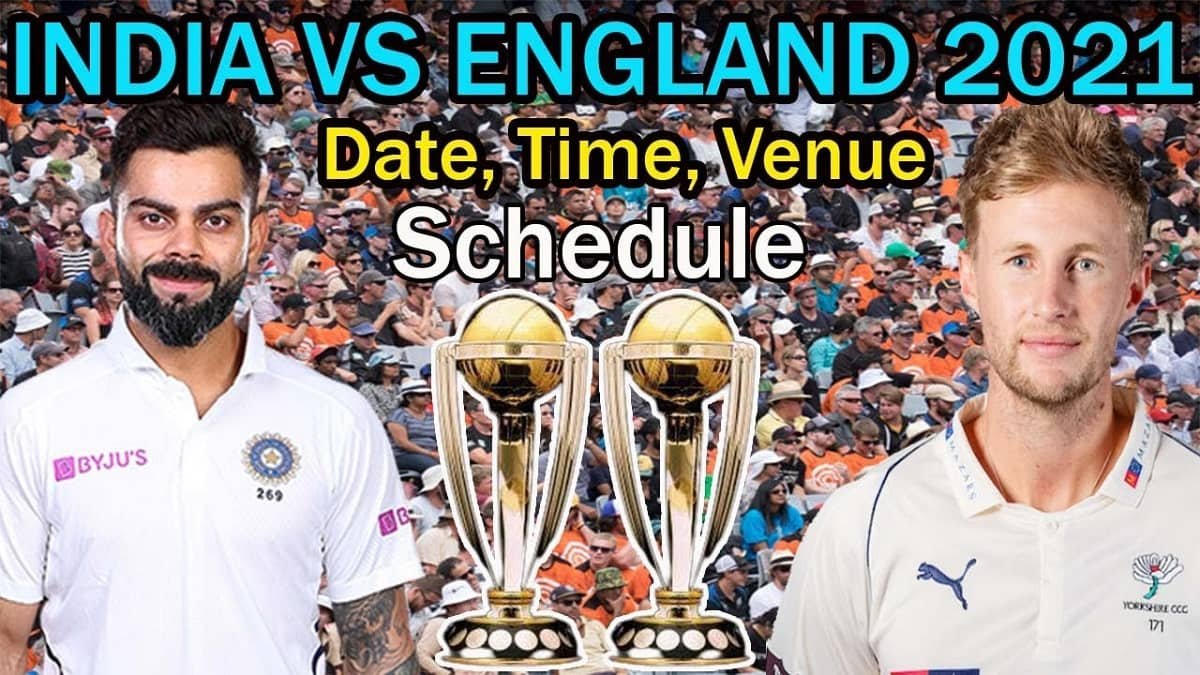 India Tour of England 2021 - Fixtures, Schedule with Dates and Timings