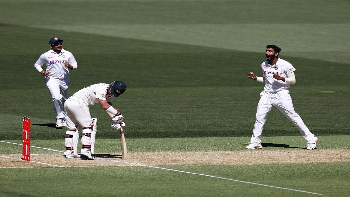IND vs AUS 1st Test Highlights: Jaspreet Bumrah rattled both Aussie openers, Australia at 35/2 on Dinner-Break