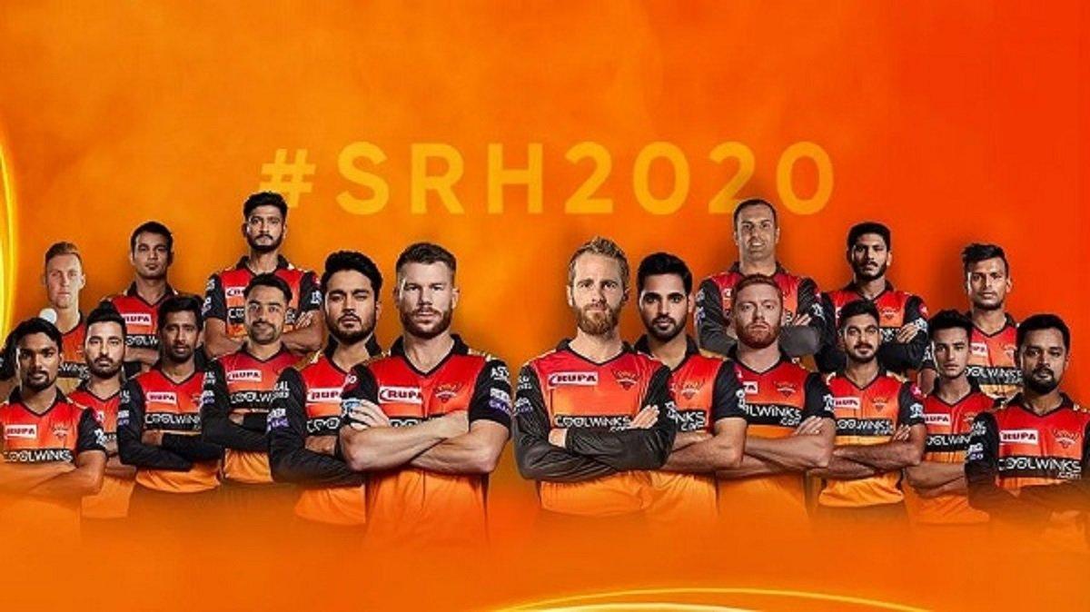 Sunrisers Hyderabad Team Squad for Indian Premier League 2020