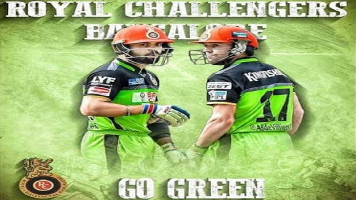 IPL 2020: Virat's Men in Red to wear Green Jersey against Chennai Super Kings in today's IPL match