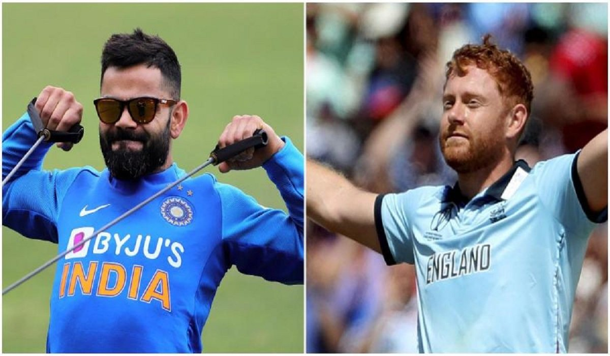 Jonny Bairstow advanced to the Top 10 of ICC ODI Rankings, Indian skipper Kohli and Rohit retain their top spots
