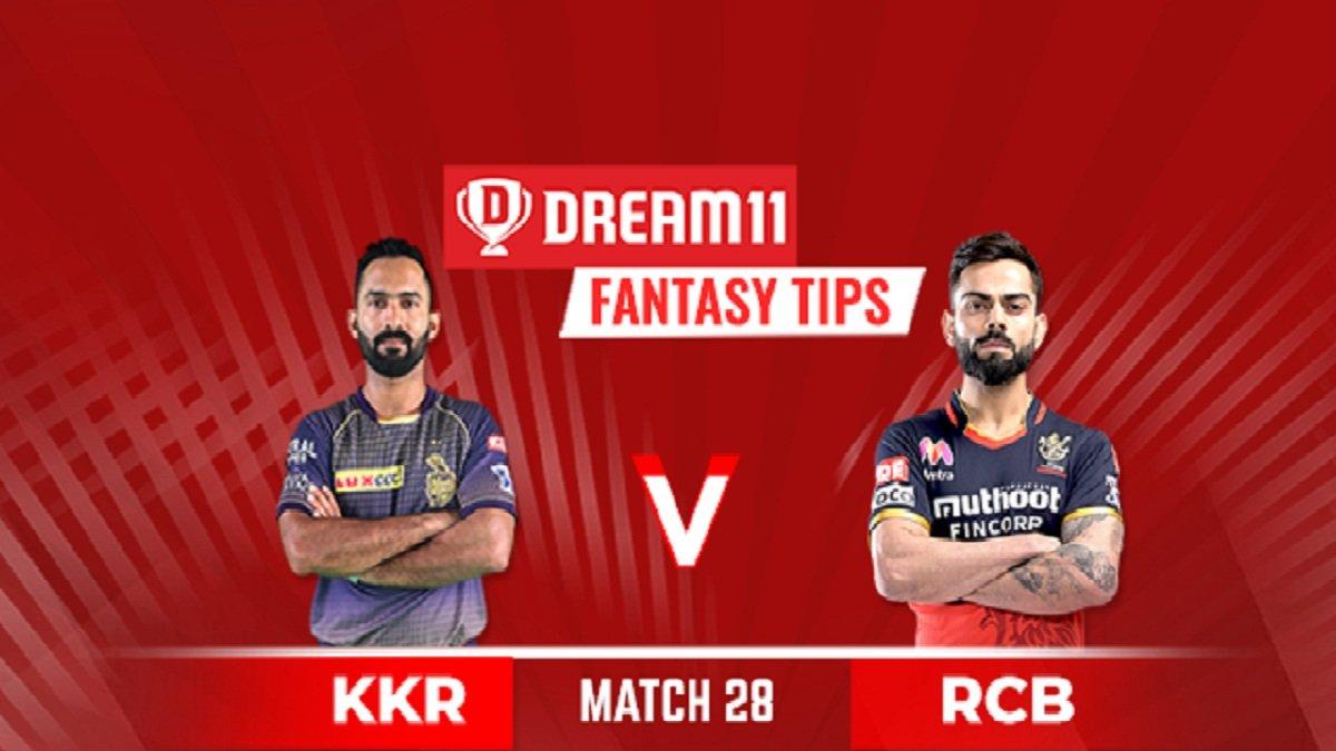 KKR vs RCB Dream11 Team Prediction: Best Fantasy tips & Hints for Captain and Vice-captain