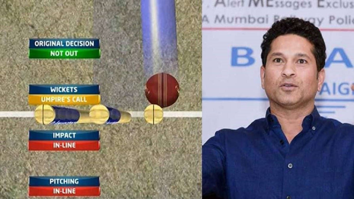 Legendary Sachin Tendulkar urges ICC to re-examine DRS system thoroughly