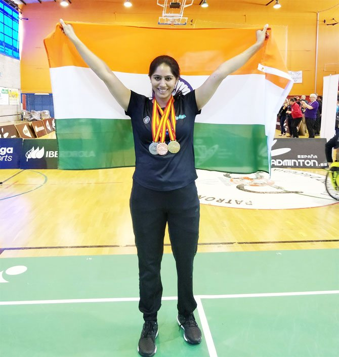Mansi Joshi becomes the star of Para-Badminton by won the Gold medal