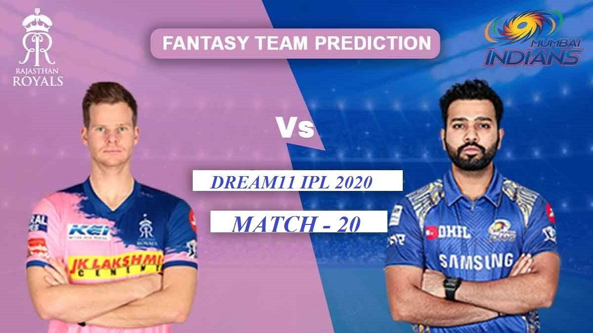 MI vs RRDream11Match Prediction: Fantasy Cricket Tips for tomorrow's Table-toppers Match