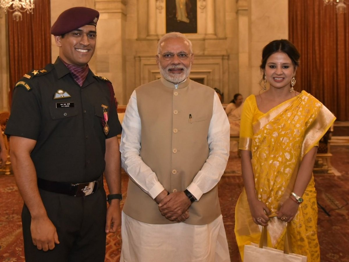 MS Dhoni shares the letter sent him to by PM Modi, after his retirement from International Cricket